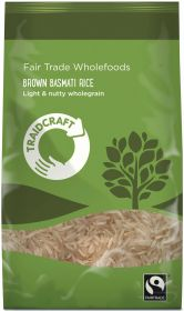 Traidcraft Fair Trade Brown Basmati Rice 500g x6