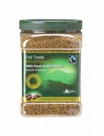 Traidcraft�Fair Trade Freeze Dried Decaff Coffee 450g Tub x6