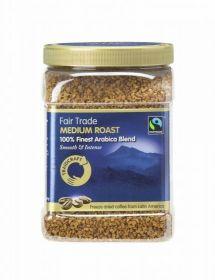 Traidcraft�Fair Trade Medium Roast Freeze Dried Coffee 450g Tub x6