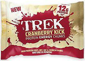 Trek Cranberry Kick Protein Energy Chunks 60g x14