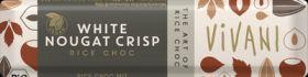 Vivani Organic Rice Drink with White Nougat Crisp (Alternative to White) Chocolate 35g x18