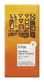Vivani Organic Superior Dark 89 % Cocoa Peru 80g x10