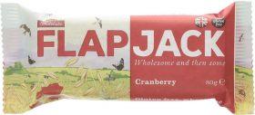 Wholebake Cranberry Flapjack 80g x20