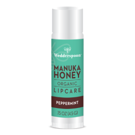 Wedderspoon Organic Peppermint Manuka Lip Balm 4.5g x20