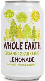 Whole Earth Organic Lightly Sparkling Lemonade Drink 330ml x24