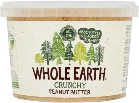 Whole Earth Original Crunchy Peanut Butter 1kg x2