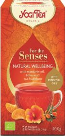 Yogi Tea Natural Wellbeing 40g (20's) x6