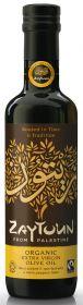 Zaytoun Fair Trade & Organic Extra Virgin Olive Oil 750ml x6