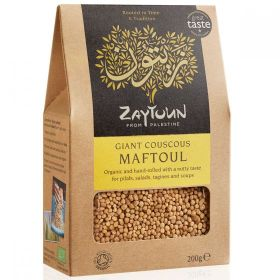 Zaytoun Organic Couscous Maftoul 200g x6