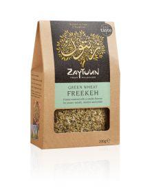 Zaytoun Organic Freekeh Smoked Green Wheat 6x200g