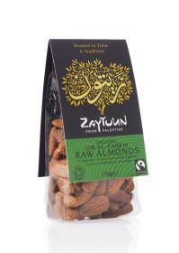 Zaytoun Fair Trade Organic Almonds 150g x6